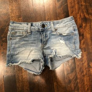 Girls Joe Jean shorts
